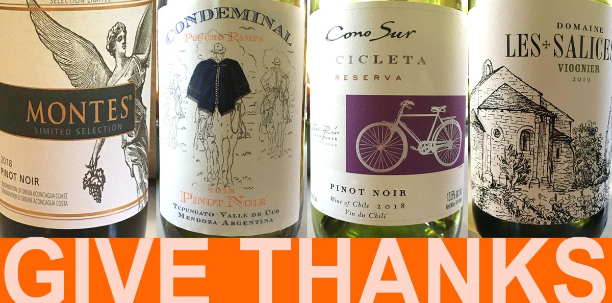 Thanksgiving Wines