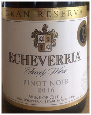 Chilean Pinot Envy