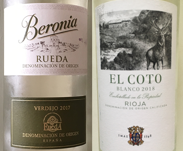 Attention! Spanish Whites!