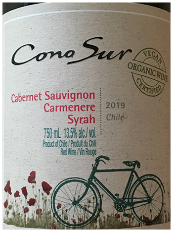 HEARTY ORGANIC CHILEAN RED ON SALE