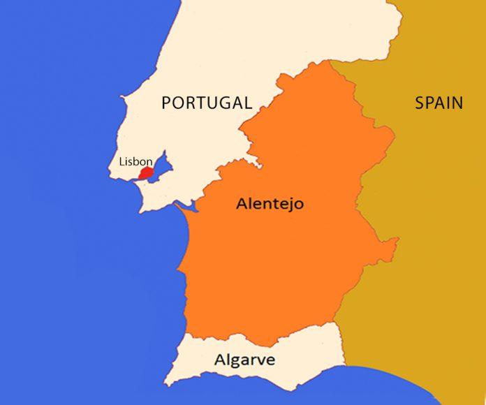 ALENTEJO MAP