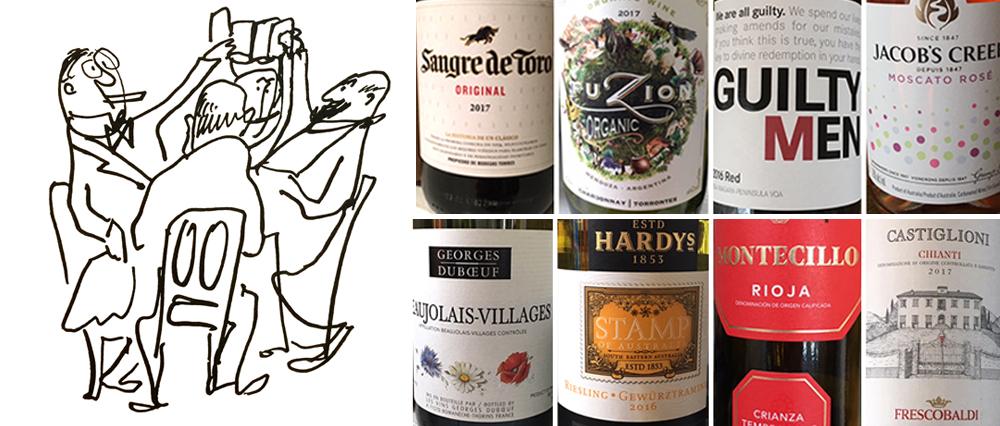 Billy's HOLIDAY WINE LIST